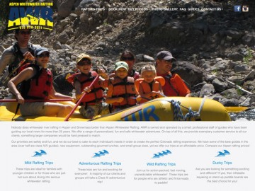 Aspen Whitewater Web Design