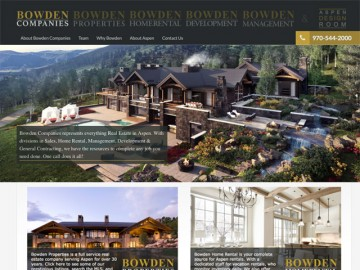 Bowden Web Site Design