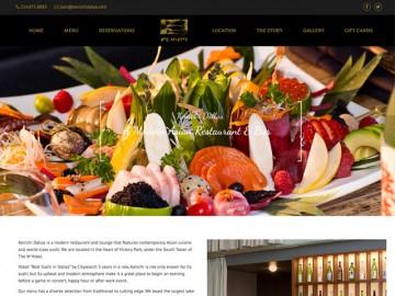 Kenichi Web Site Design